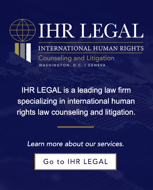 International human rights law firms